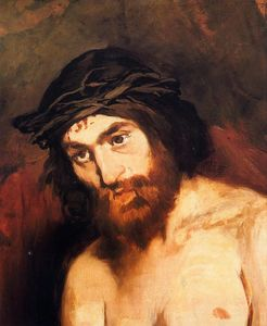 Edouard Manet - The head of Christ