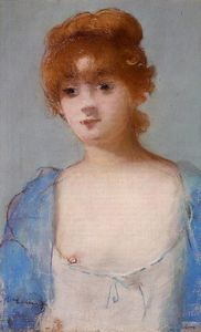 Edouard Manet - Young Woman in a Negligee