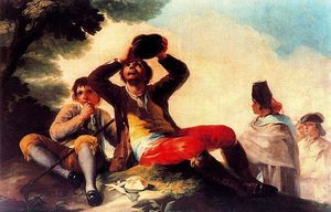 Francisco De Goya - The drinker