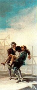 Francisco De Goya - The drunken bricklayer