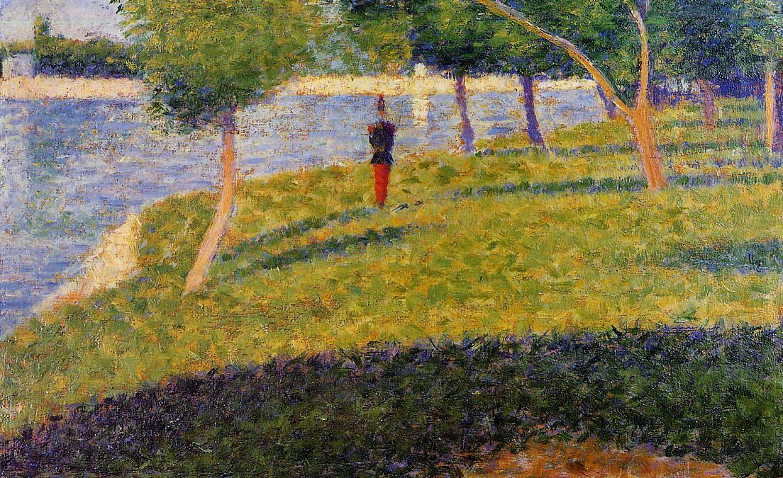 famous painting Cadet From Saint-Cyr of Georges Pierre Seurat