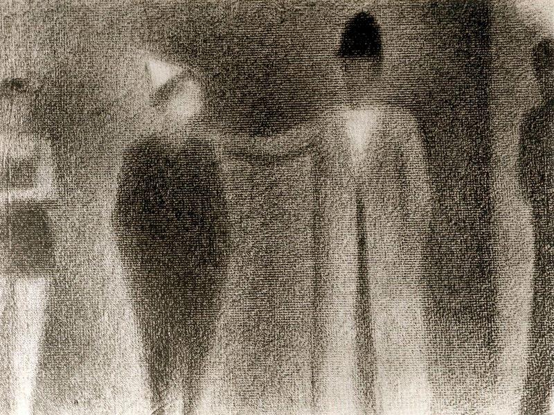 famous painting Couple Dancing of Georges Pierre Seurat