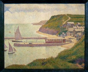 Georges Pierre Seurat - Port-en-Bessin, Outer Harbor, High Tide
