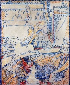 Georges Pierre Seurat - Study for ''The Circus''