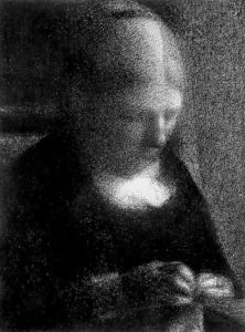 Georges Pierre Seurat - The Artist's Mother