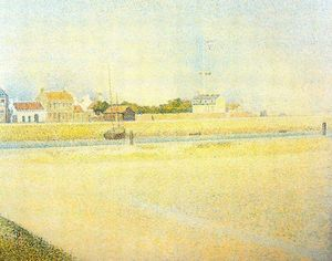 Georges Pierre Seurat - The Channel at Gravelines, Grand Fort-Philippe