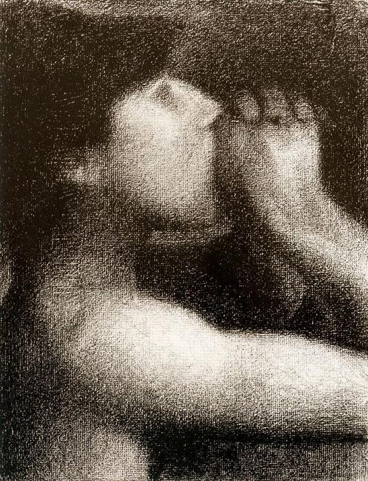 famous painting The Echo of Georges Pierre Seurat