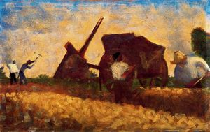 Georges Pierre Seurat - The Roadmenders
