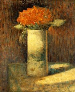 Georges Pierre Seurat - Vase of Flowers