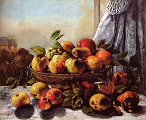 Gustave Courbet - Still Life Fruit