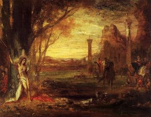 Gustave Moreau - Saint Sebastian and His Executioners