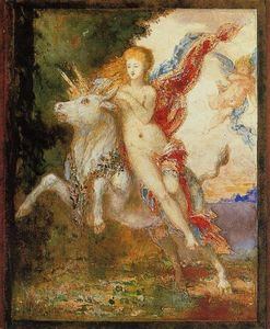 Gustave Moreau - The Abduction of Europa