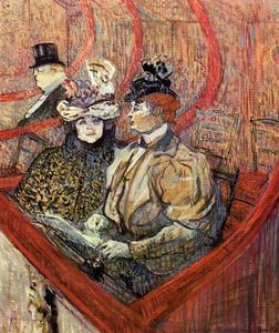 Henri De Toulouse Lautrec - The Grand Tier