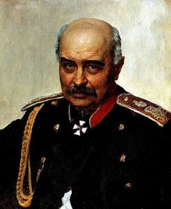 Ilya Yefimovich Repin - Portrait of general and statesman Mikhail Ivanovich Dragomirov