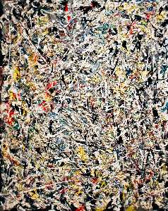 Jackson Pollock - White Light