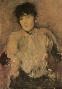 James Abbott Mcneill Whistler - The Rose Scarf