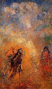 Odilon Redon - The Apparition