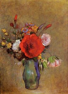 Odilon Redon - Vase Of Flowers 1