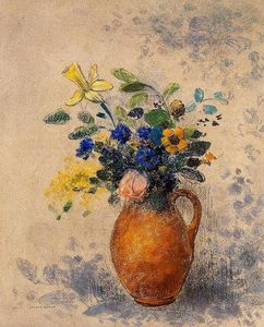 Odilon Redon - Vase of Flowers (10)