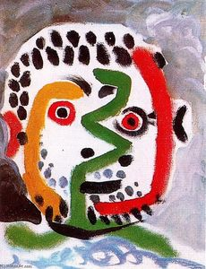 Pablo Picasso - Head of a man 11