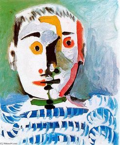 Pablo Picasso - Head of a man 6