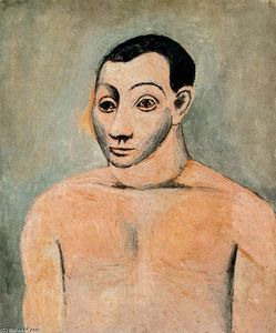 Pablo Picasso - Self-portrait 1