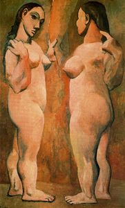 Pablo Picasso - Two nude women