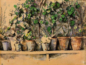 Paul Cezanne - Flower Pots