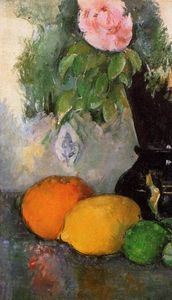 Paul Cezanne - Flowers and Fruit