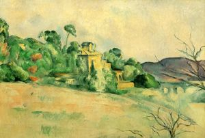 Paul Cezanne - Landscape at Midday