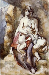 Paul Cezanne - Medea (after Delacroix)