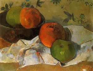 Paul Gauguin - Apples and Bowl