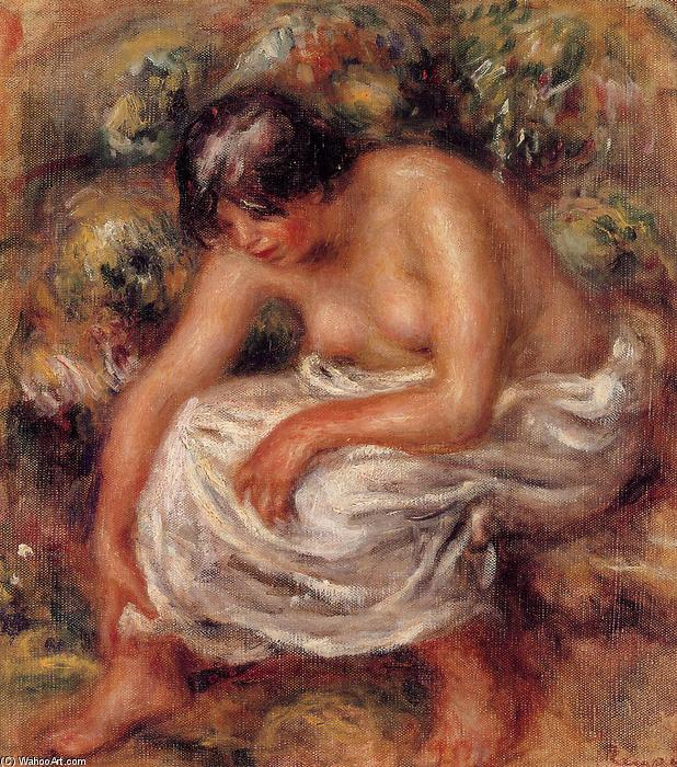 famous painting Bathing of Pierre-Auguste Renoir