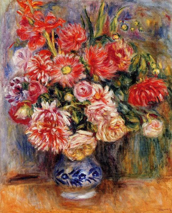 famous painting Bouquet of Pierre-Auguste Renoir