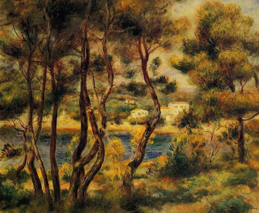 famous painting Cape Saint Jean of Pierre-Auguste Renoir