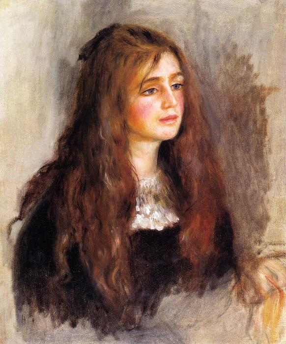 famous painting Julie Manet of Pierre-Auguste Renoir