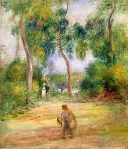 Pierre-Auguste Renoir - Landscape with Figures