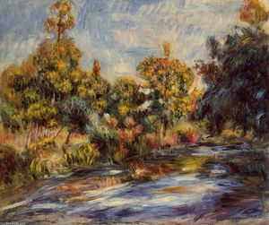 Pierre-Auguste Renoir - Landscape with River