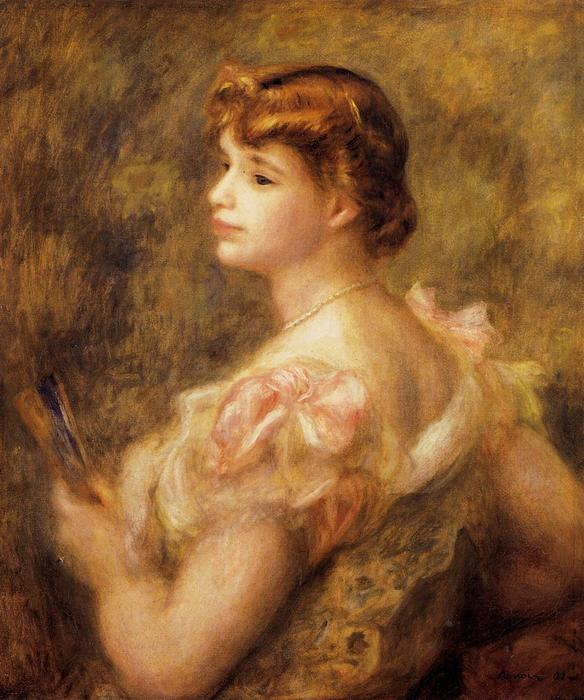 famous painting Madame Charles Fray of Pierre-Auguste Renoir