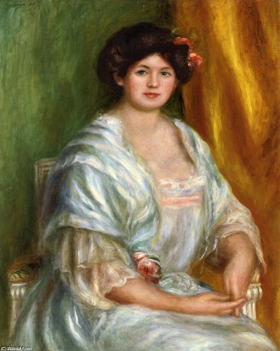 famous painting Madame Thurneyssen of Pierre-Auguste Renoir