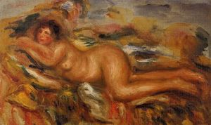 Pierre-Auguste Renoir - Nude on the Grass