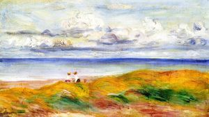 Pierre-Auguste Renoir - On a Cliff