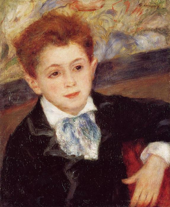 famous painting Paul Meunier of Pierre-Auguste Renoir