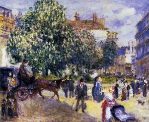 Pierre-Auguste Renoir - Place de la Trinite, Paris