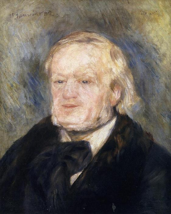 famous painting Richard Wagner of Pierre-Auguste Renoir
