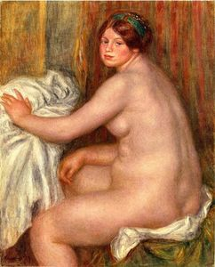 Pierre-Auguste Renoir - Seated Bather 1