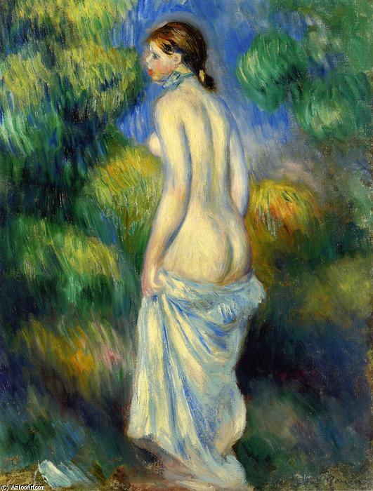 famous painting Standing Nude of Pierre-Auguste Renoir
