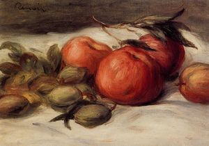 Pierre-Auguste Renoir - Still Life with Apples and Almonds