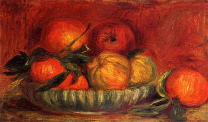 Pierre-Auguste Renoir - Still Life with Apples and Oranges 1