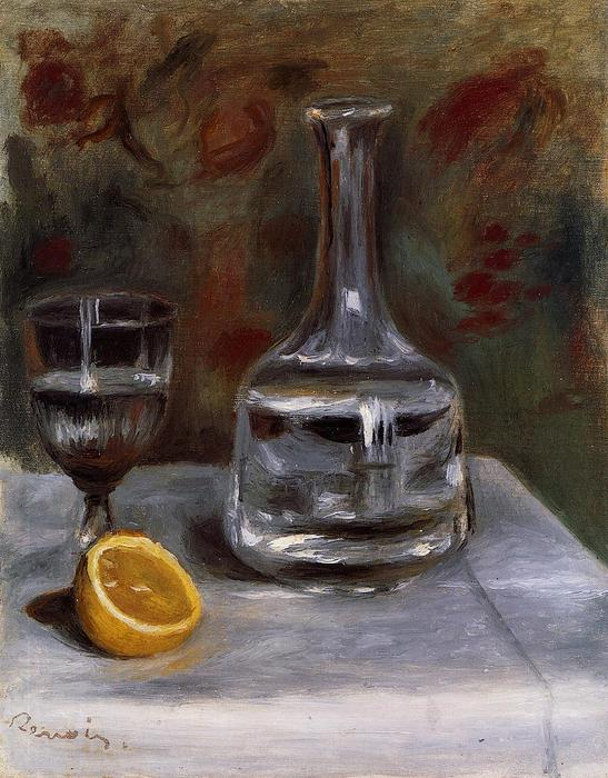famous painting Still Life with Carafe of Pierre-Auguste Renoir